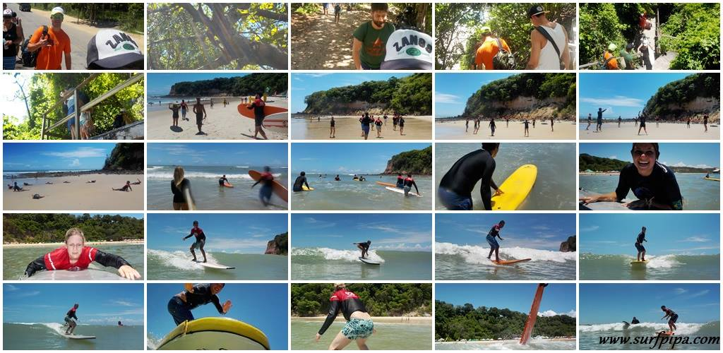 clase de surf praia da pipa