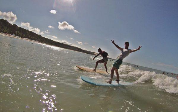 photos surf lesson pipa beach